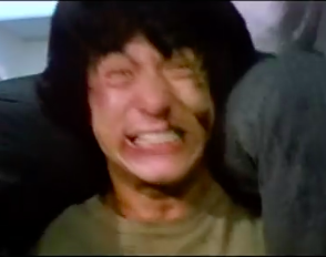 Jackie Chan training the next generation in some stunt basics